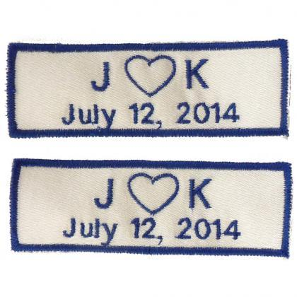Personalized Embroidered Wedding Sh..